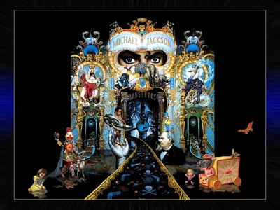 The creator of Dangerous cover was the artist Mark Ryden. Michael told him that the design should be mysterious, that people will interpret in their own way.. and Mark asked for 6 months to finish the work. Here is a link: http://susanta.com/blog/meaning-of-the-michael-jacksons-dangerous-album/ The original painting seems to be bigger than the cover, I've seen this one, I don't know if it's the original painting. And no, I don't believe those things.. and was not Michael to make it. It was made par another person.
