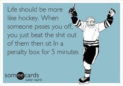 Hockey and archery. Mostly hockey.