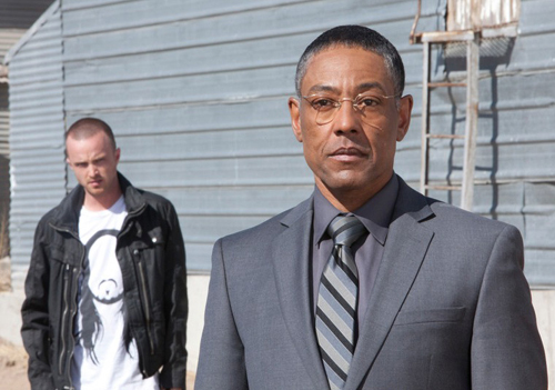 Giancarlo Esposito in grey