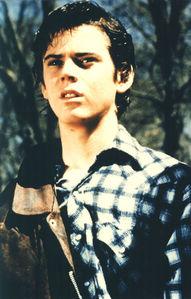 "C. Thomas Howell as ""Ponyboy"" back in 1983"