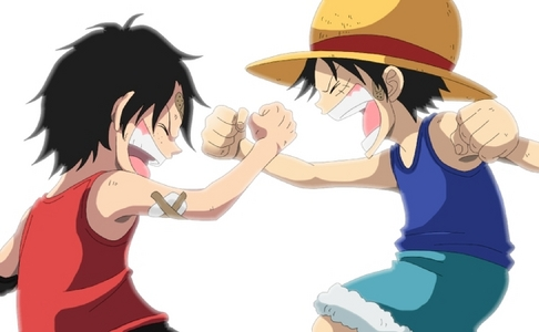 Right now I'm using this one. Ace-Luffy from One Piece :)