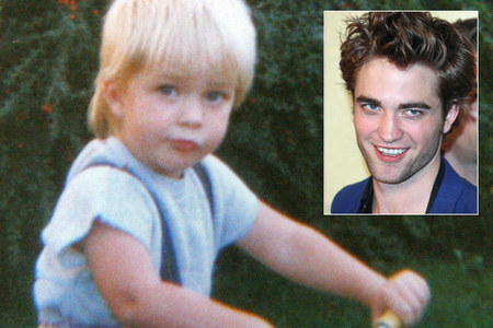 aww look at my cute little blonde haired British baby<3