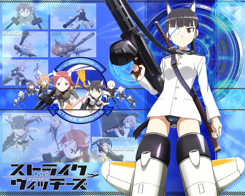 Strike Witches takes place in various war torn European locals during a parallel universe's world war ii era, including Great Britain and Italy.