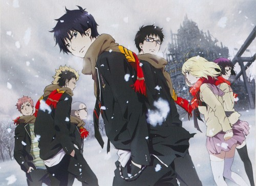 Ao No Exorcist for me. However, I'm đọc the manga, which is much better. Go ahead and watch the anime I guess. Trust me it's an awesome series.