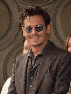 Johnny Depp smiling :)