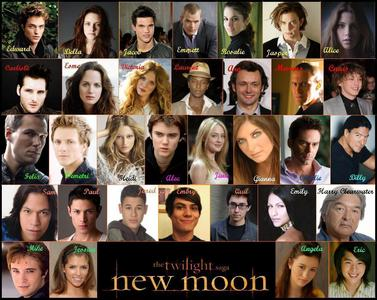 Twilight:New Moon cast collage<3