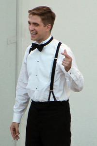 my gorgeous Robert rockin' the suspenders<3
