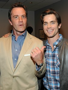 Matt Bomer with his co-star Tim DeKay :)