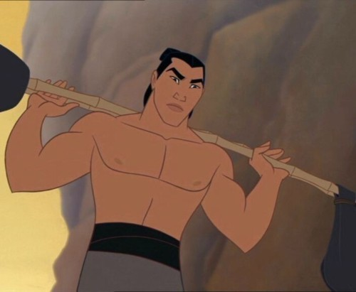 Shang <3 He's brave, selfless and genuinely cares for his men.