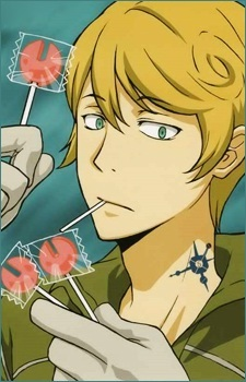 Spanner from KHR! He's a mechanic and his lollipops are shaped like wrenches