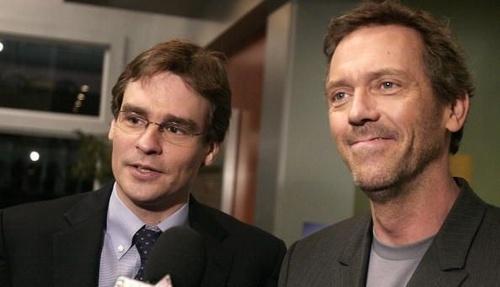 Hugh Laurie with Robert Sean Leonard