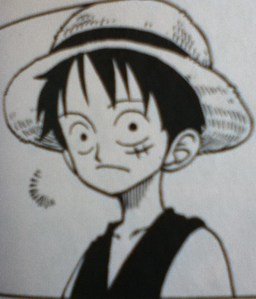 If I had to say, I'd probably say Monkey D. Luffy from One Piece. I'm a very easy-going person, though not the brightest all the time. I'm also a very friendly and optimistic person.