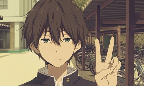 I may be a girl but me and Oreki from Hyouka have pretty much the same personality.We are both really,really lazy....