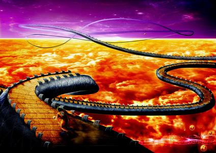Snake way! ..... .....