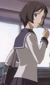 Kagura Tsuchimiya from Ga-Rei Zero loves Pocky