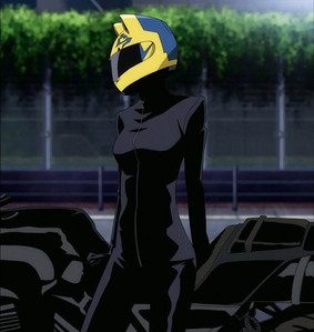 I would luv to be Lelouch, but ya know he kinda has a short life, so i guess Izaya from Durarara!! I wanna troll people like him <3 But if it had to do with gender (like, the same gender ex female) I would be Celty XD ~pict