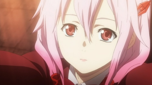 It will be inori from guilty crown becouse they should be happy with shu...i cried when she died...