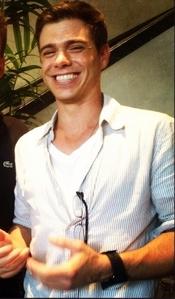 Matthew wearing white. :)