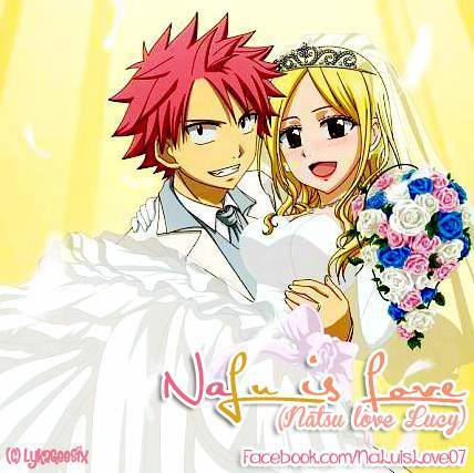 Natsu and Lucy - Fairy tailღ♡♡ღ