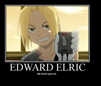 This one has to be my inayopendelewa it's of Ed from Fullmetal Alchemist..why? because I think it's funny!:p