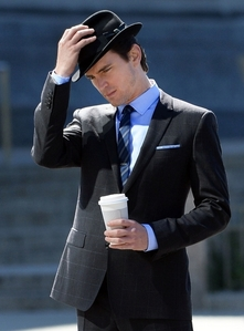 Matt Bomer wearing a hat :)