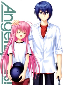 Hinata from Angel Beats Tomoya from Clannad+After Story and Black nyota from Soul Eater