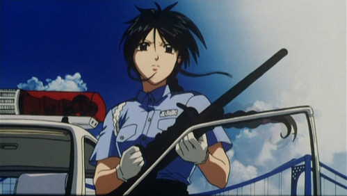 "I'll consider any character who is old enough to be in the work force an ""older character"". Miyuki may be younger than me now, but she wasn't when she first caught my eye. From You're Under Arrest."