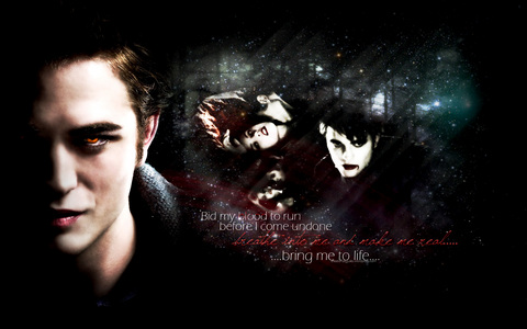 Edward Cullen,the sexy,dark vampire<3