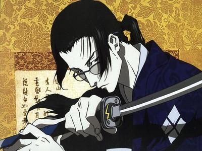 Jin from Samurai Champloo is a samurai!