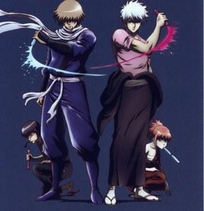 Zenzo Hattori and Gintoki Sakata a ninja and a samurai