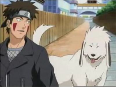 Kiba and Akamaru