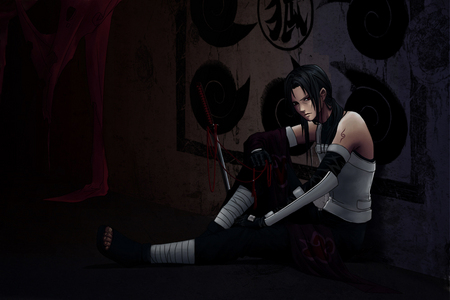 Itachi Uchiha (Naruto Shippudn) a true ninja.............he he eheh h