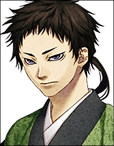 Susumu Yamazaki from Hakuouki is a ninja