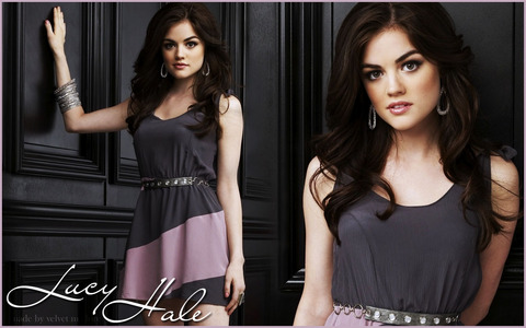 Aria Montgomery/Lucy Hale