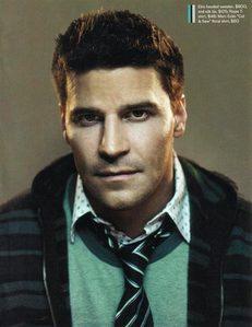 Dave in a striped tie & जैकेट