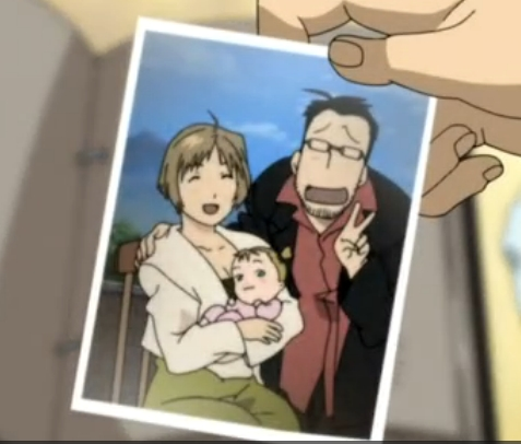 I would absolutely Amore to have Maes and Gracia Hughes in Fullmetal Alchemist as parents! it would be so amazing!