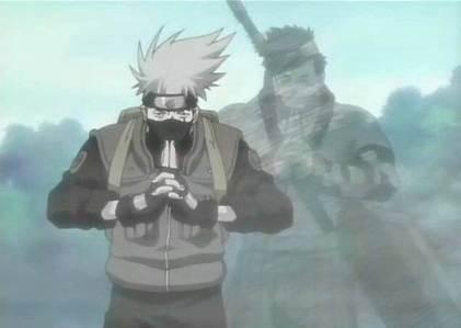 Kakashi and Zabuza (Naruto)