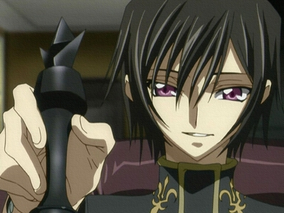 """""""I, Lelouch vi Britannia, command you! Now, all of you...Die!"""" da Lelouch from Code Geass."""
