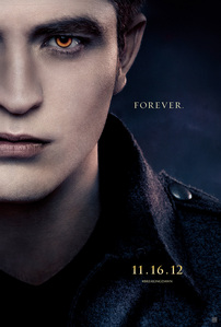 half of Robert's gorgeous face on the BD 2 poster<3