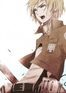 """""""Someone who can't sacrifice anything can never change anything..."""" -Armin Attack on Titan"""