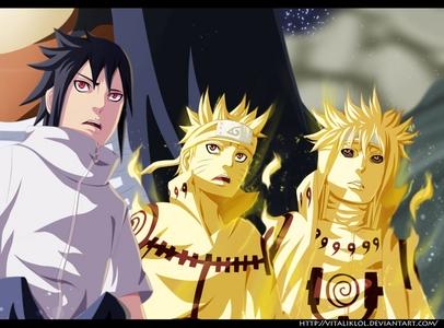 Sasuke , Naruto & Minato (Naruto Shippuden)