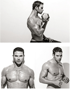 check out the muscles on Kellan Lutz!!!<3