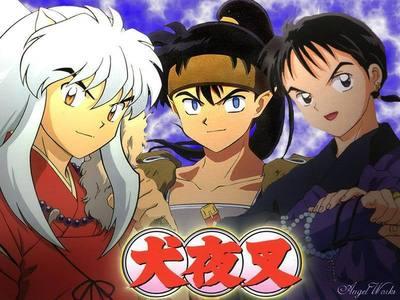 Inuyasha,Koga,and Miroku!! :D