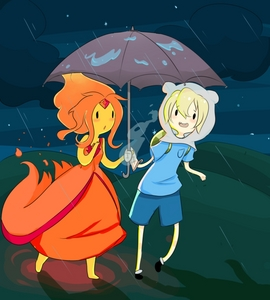 Adventure time is finn dating flame princess