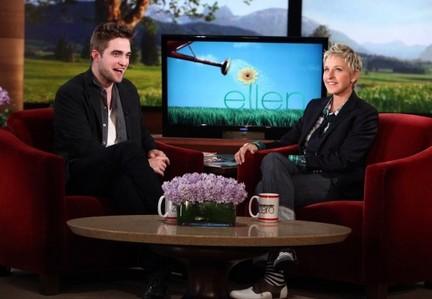 my gorgeous British babe on the Ellen show<3