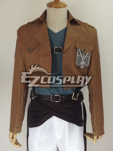 Gonna go wearing the Attack on Titan cadet uniform o whatever it's called. I may not like the anime, but tu don't have to like an anime to want their stuff.