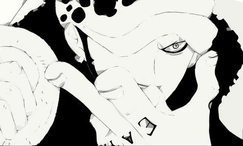 1) Trafalgar Law (One Piece) 2) L Lawliet (Death Note) 3) Alucard (Hellsing) 4) Revy (Black Lagoon) 5) Rigardo the silver eyed lion (Claymore) Bonuses: Mello , Luffy , Near , Kira , Ace , Gon , Killua , Minato , Shikamaru Nara , Goku ... etc