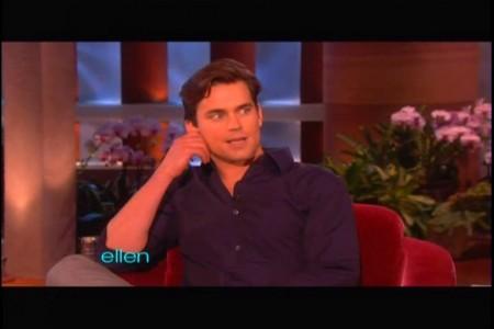 Matt Bomer on Ellen :)