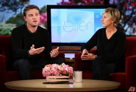 Leonardo Dicaprio on Ellen