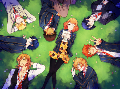 Shugo Chara Puella Madoka Magica Uta no Prince sama (maybe idk for sure if you'd find it tvma of not) Black Rock Shooter 07-Ghost Toradora (maybe.maybe not) these are just ones that i have watched the picture below is Uta no Prince sama
